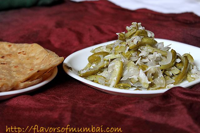 Ivy Gourd Foogath, How to make Ivy Gourd Foogath Recipe – Goan Tendli Vegetable