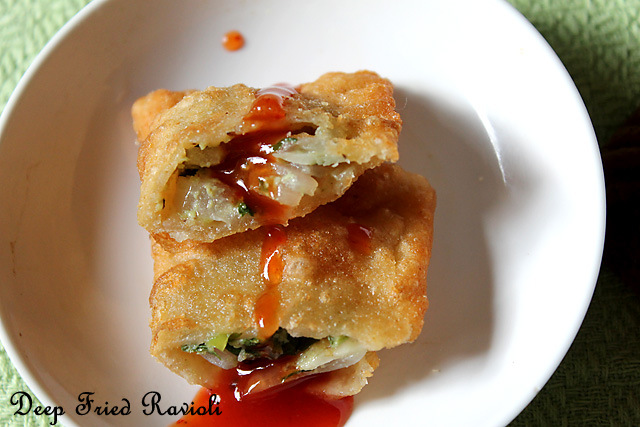 Deep Fried Ravioli