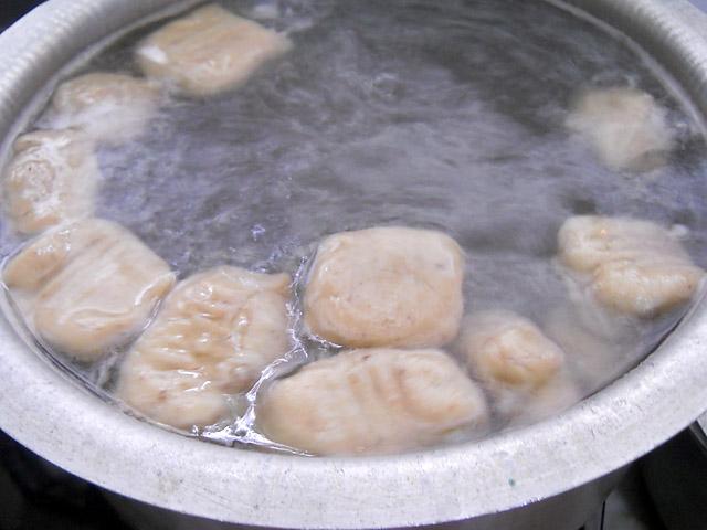 Mushroom Stuffed Gnocchi