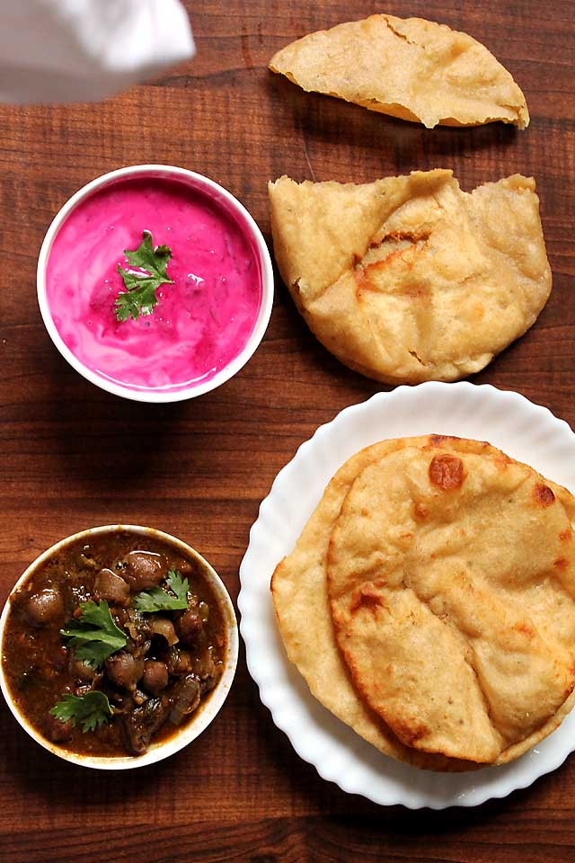 How to make Bhatura with Yeast, Bhatura Recipe | Indian Yogurt Bread