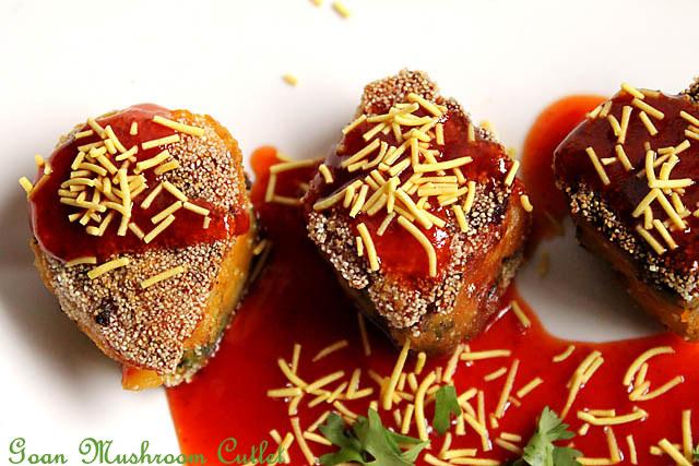 Goan Mushroom Cutlet 2