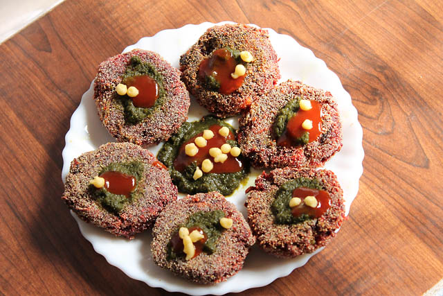 Beetroot Patties Indian