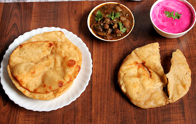 How to make Bhatura with Yeast