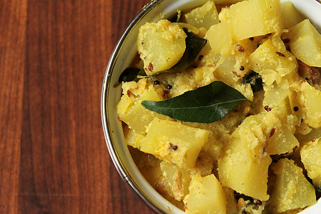 How to make Raw Papaya Vegetable