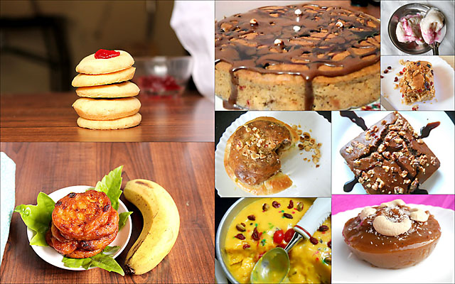 List Of Eggless Recipes and Cakes