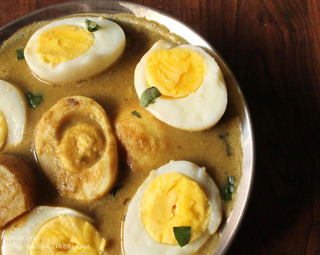 Egg Curry Mughlai Style, How to make Mughlai Egg Curry Masala