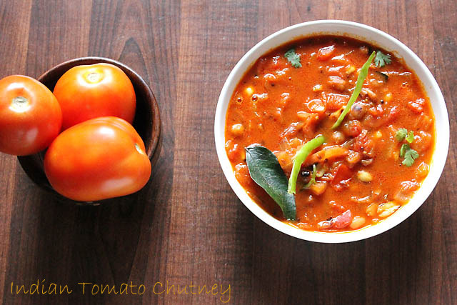 Tomato Chutney Recipe, How to make Tomato Chutney | Tamatar Chutney