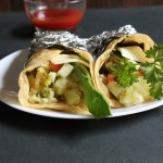 Mumbai Potato Wraps – Potato Kati Roll