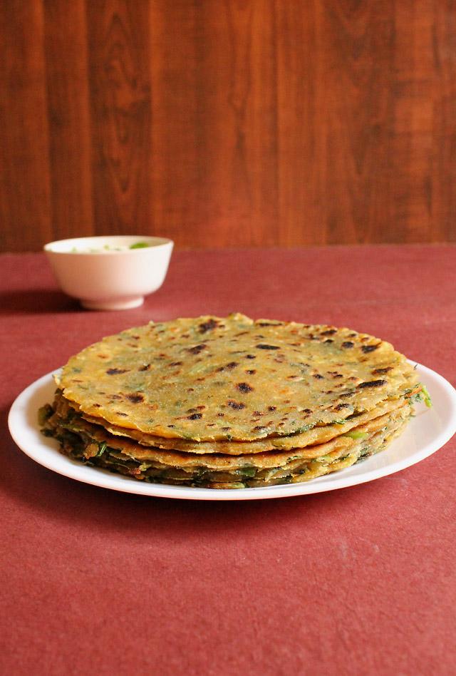 Palak Paneer Paratha Recipe – How to make Palak Paneer Paratha Recipe