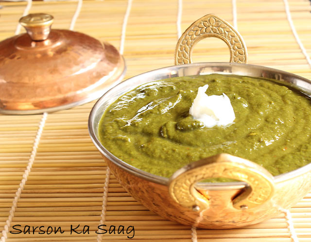 Sarson Ka Saag Recipe, How to make Sarson Ka Saag | Indian Mustard Greens