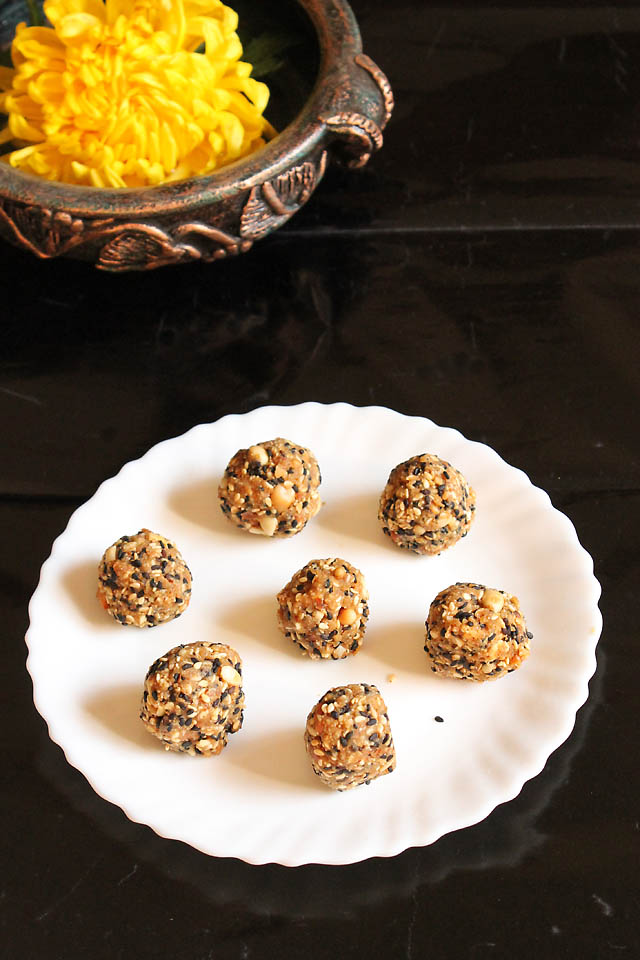 Til Ladoo Recipe  Sesame Ladoo Recipe