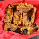 Eggless Christmas Fruit Cake , Easy Eggless Christmas Fruit Cake Recipe