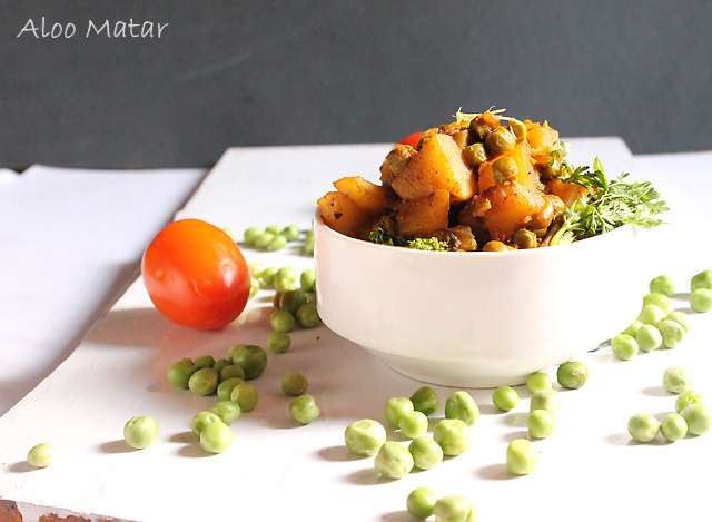 Aloo Matar – Potato Peas Vegetable
