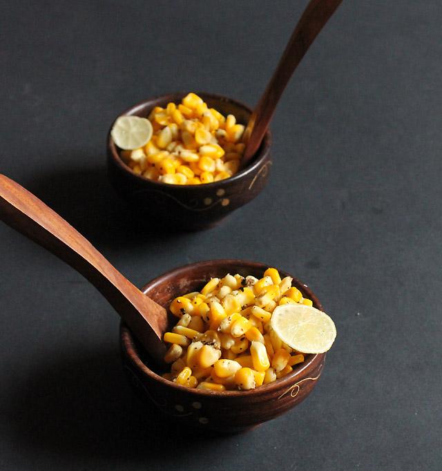 Masala Corn Chat
