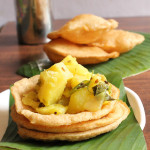 Puri Bhaji Recipe, How To Make Puri Bhaji recipe | Mumbai Street Food