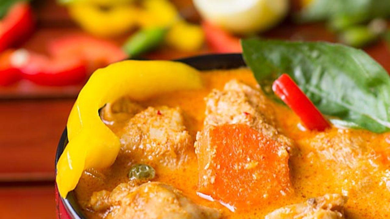 Thai Red Curry Chicken Recipe Thai Chicken Curry
