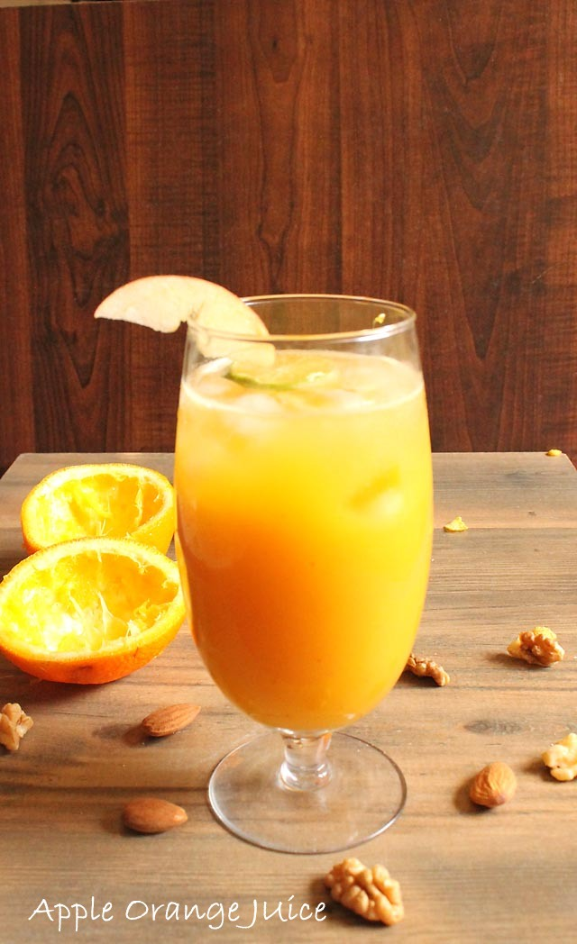 Apple Orange Juice Recipe, How to make Apple Orange Juice Recipe