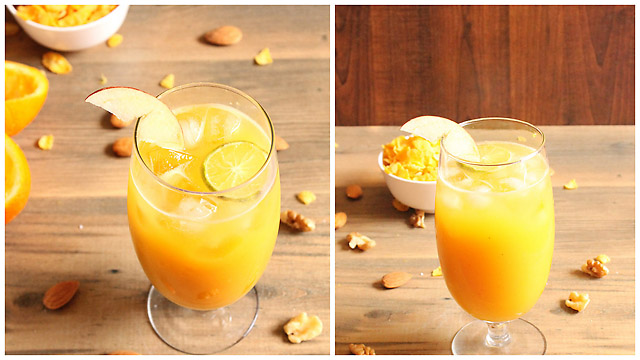 Apple  Orange Juice Recipe