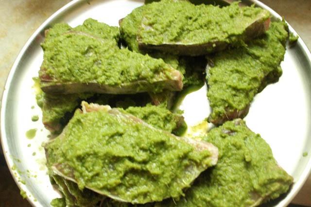 Fish Fry Green Masala