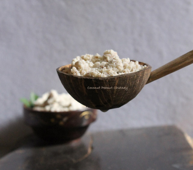 Coconut Peanut Chutney – Iftar Recipes for Ramadan