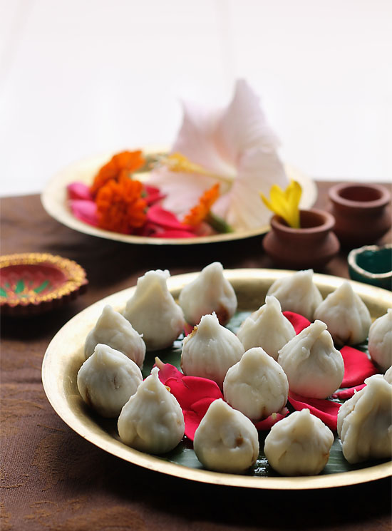 Modak Recipe, Ukadiche Modak | Steamed Modak Recipe Stepwise