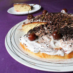 Plum Sponge Cake Recipe – No Butter Sponge Cake Recipe