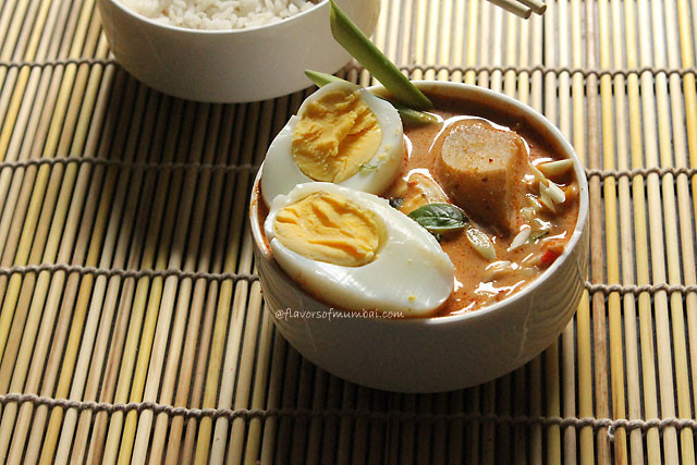 Thai Red Curry with Egg