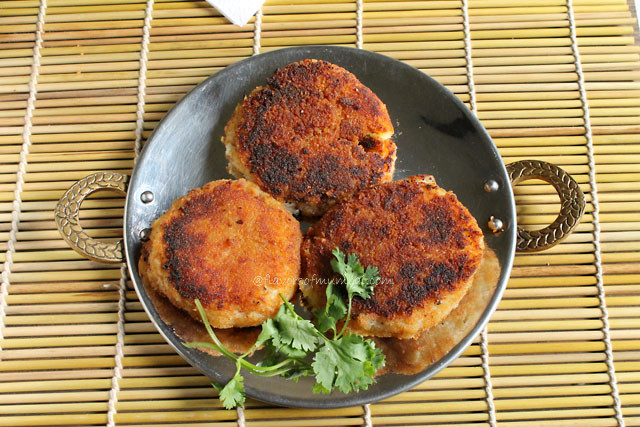 Goan Mince Potato Chops
