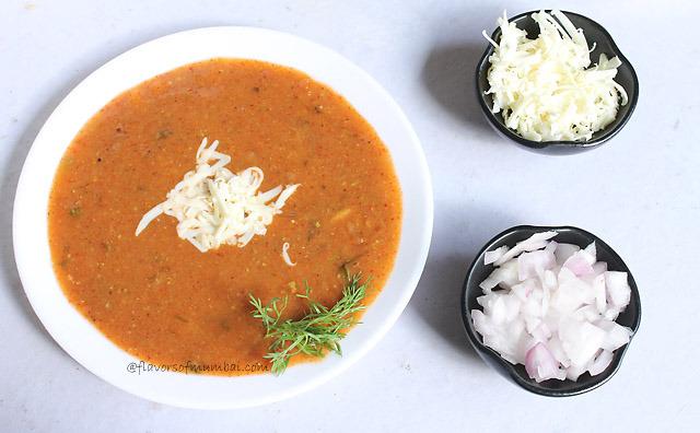 Mumbai Cheese Pav Bhaji