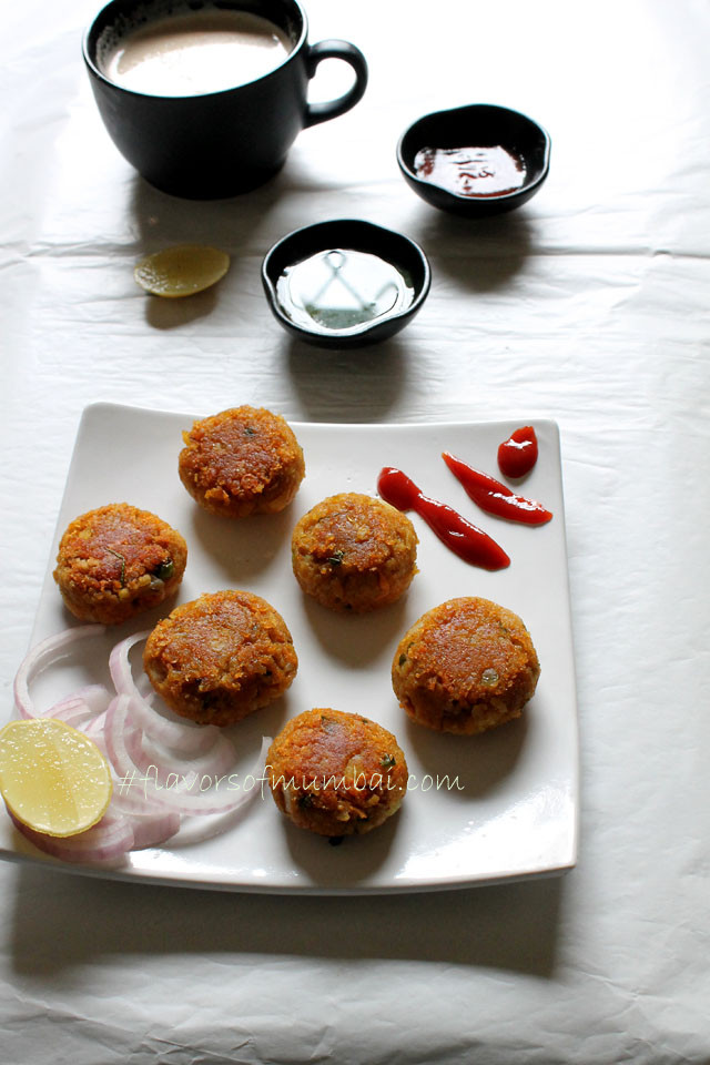 Poha Oats Cutlet