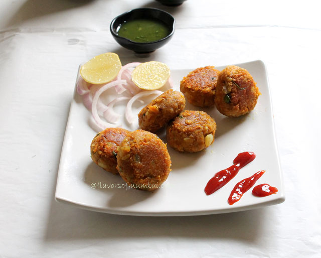 Poha and Oats Cutlets – Poha Oats Recipe