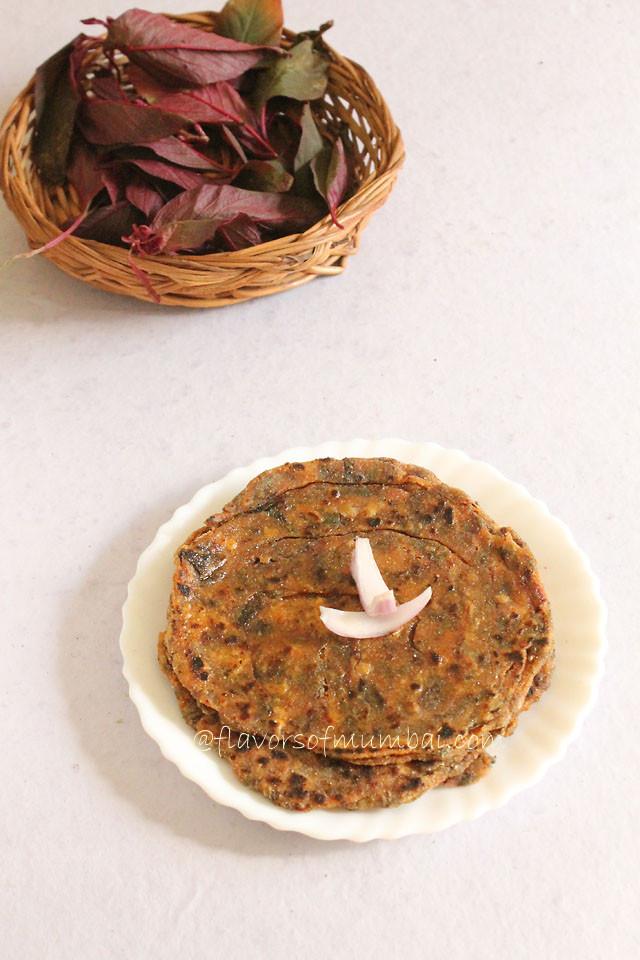Amaranth Leaves roti