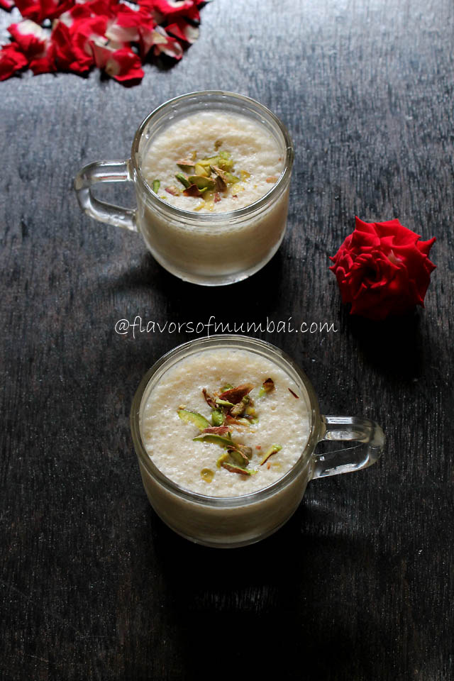 Custard Apple Milkshake – Dairy free Custard Apple Milk shake