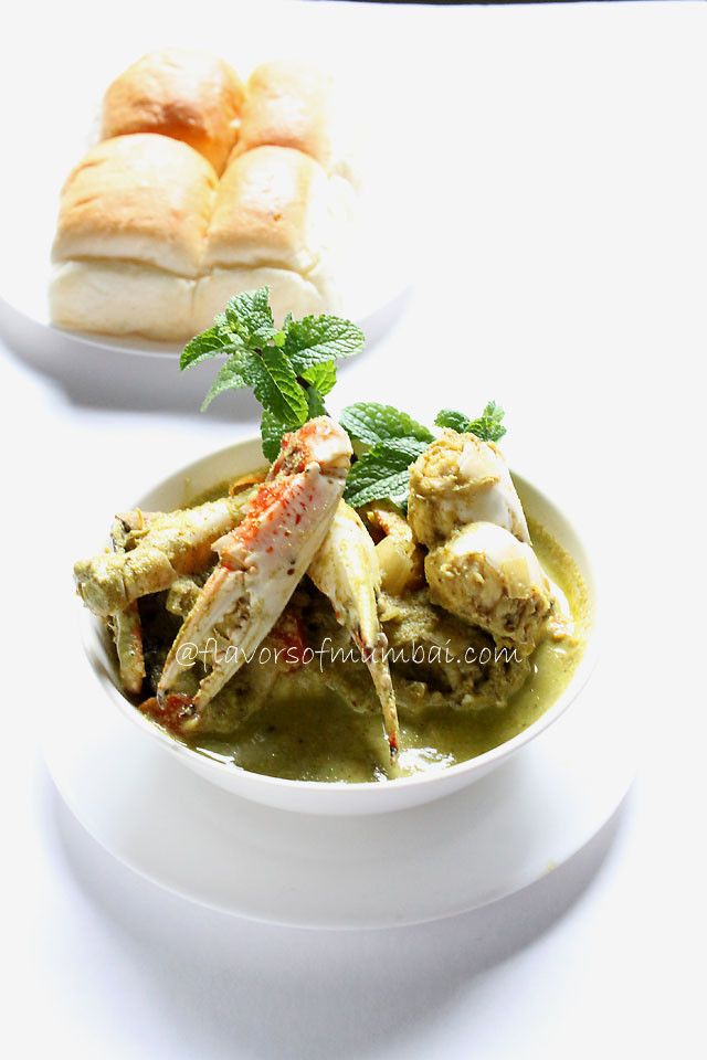 Green Crab Curry – Easy Green Crab Curry
