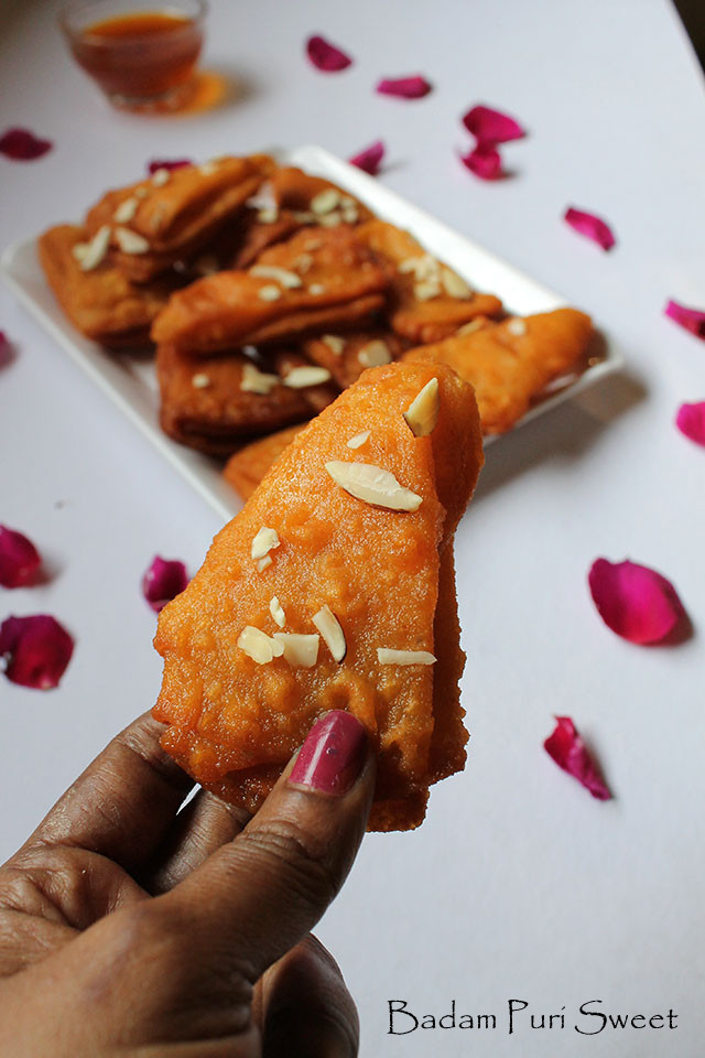 Badam Puri Sweet