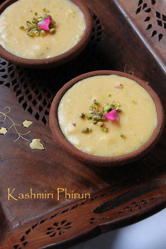 Kashmiri Phirun