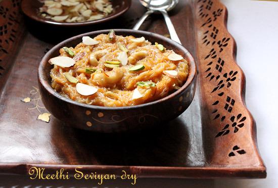 Meethi Seviyan Dry Recipe – Dry Meethi Seviyan Recipe | Sweet Vermicelli
