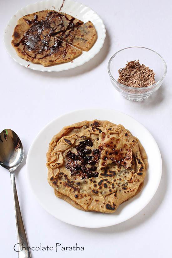 Chocolate Paratha