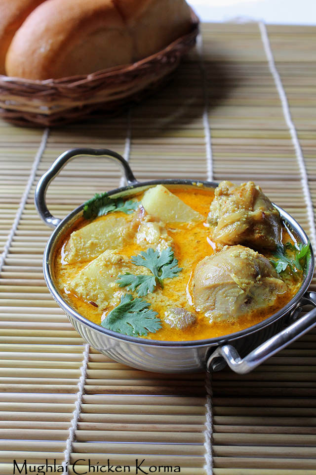 Mughlai Chicken Korma, How to make Chicken Kurma | Chicken Curries