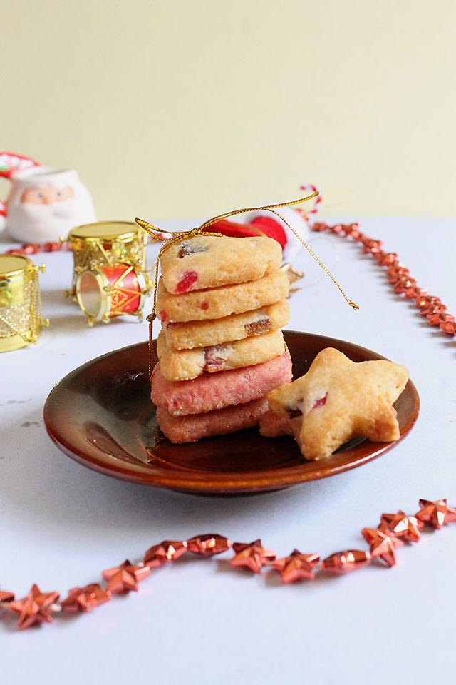 Tutti Frutti Cookies