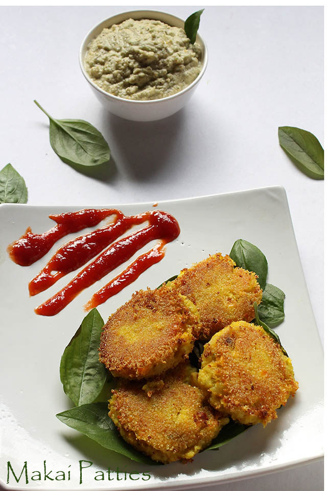 Corn Patties Recipe – How to make Makai Patties Recipe