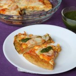 Paneer Tikka Pizza Recipe, How to make Paneer Tikka Pizza from scratch