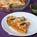 Paneer Tikka Pizza Recipe, How to make Paneer Tikka Pizza from scratch