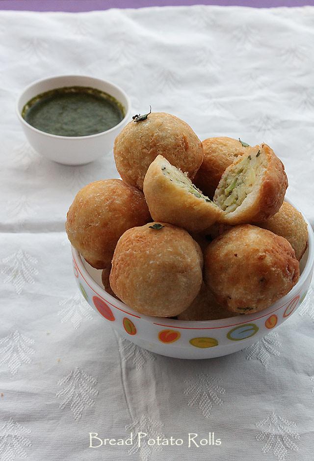 Bread Potato Rolls Recipe – Bread rolls stuffed with potatoes recipe