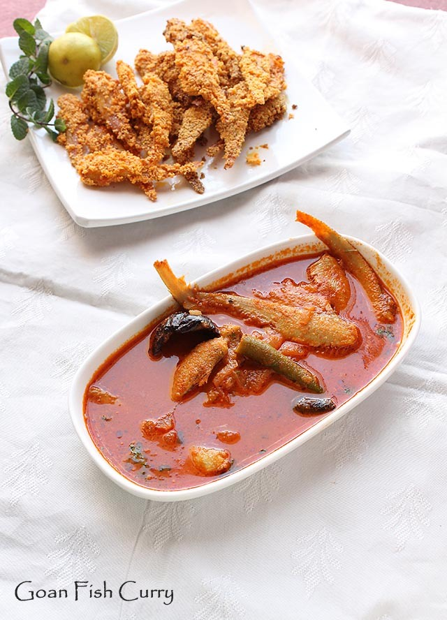 Goan Fish Curry  – Mandeli Curry