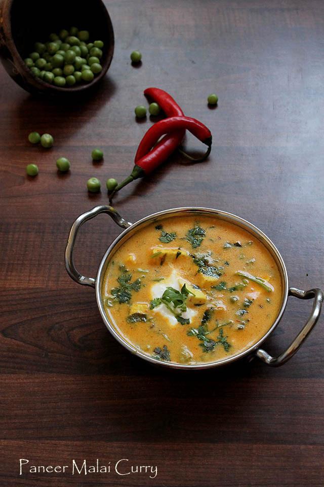 Paneer Malai Curry Recipe – How to make Paneer Malai Curry Recipe