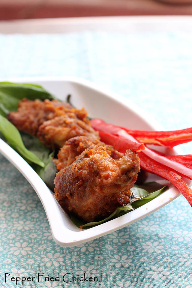 Red Chili Pepper Fried Chicken