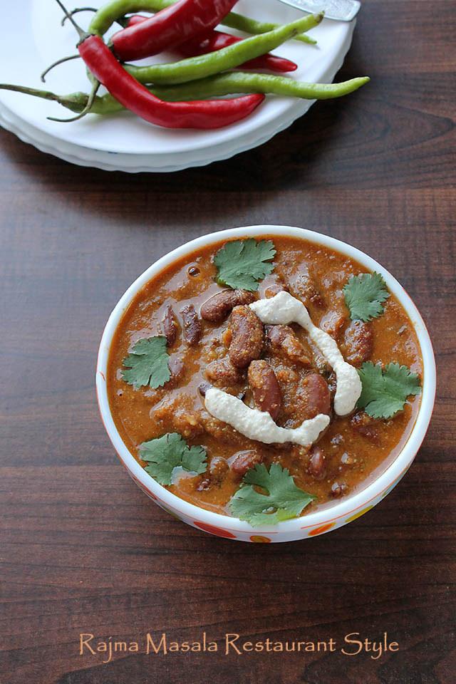 Rajma Masala Restaurant Style 21