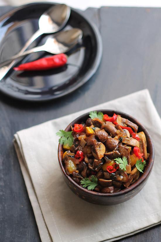 Mushroom Chili Fry (2)