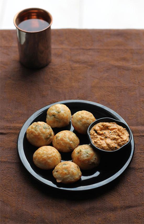 Masala Paniyaram Recipe